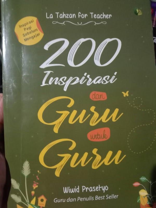 Resensi Buku La Tahzan For Teacher. Inspirasi Pagi Sebelum Mengajar