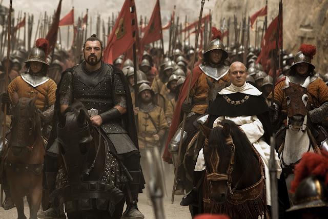 Primera imagen de los actores españoles en 'Assassin's Creed'