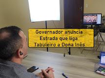 DONA INÊS/PB. Em reunião com Prefeito, Governador anuncia asfalto que liga Município a Bananeiras
