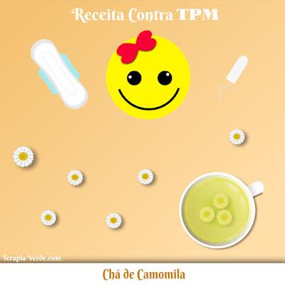 Receita contra TPM: Chá de Camomila