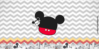 Vintage Mickey: Free Printable Candy Bar Labels.