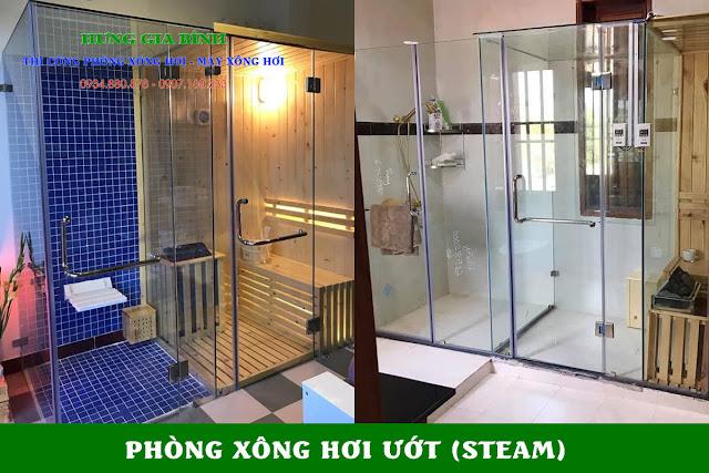 Phòng xông hơi ướt (steambath)