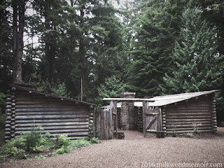 Fort Clatsop at Lewis and Clark National and State Historical Parks in Oregon