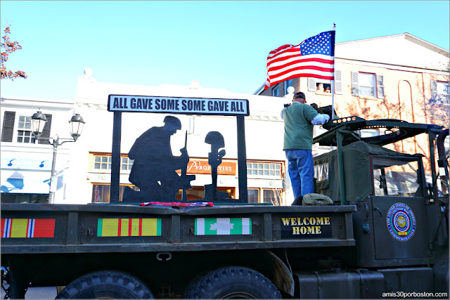 D-Day's 75th Anniversary en el Desfile de Acción de Gracias de Plymouth