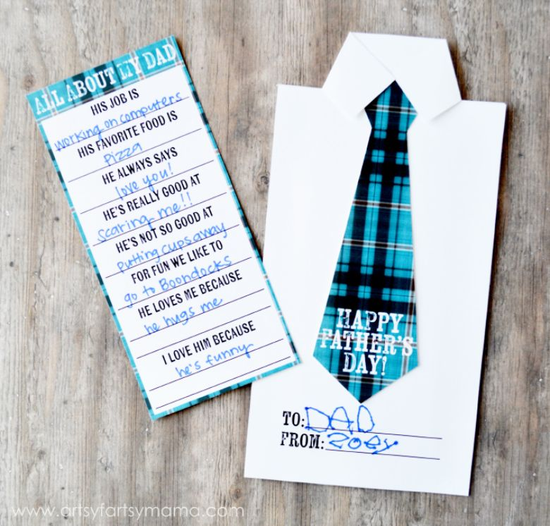 Father's Day Candy Bar Wrapper Card