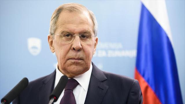 Lavrov rechaza tesis de EEUU sobre injerencia de Moscú en 2016