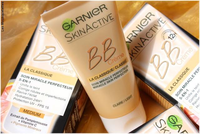 BB Crème 12h La Classique, Skin Active de Garnier - Blog beauté