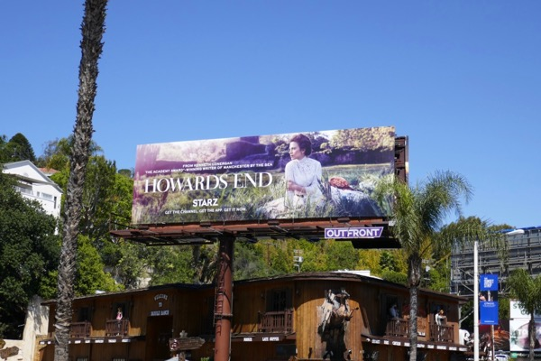 Howards End TV series billboard
