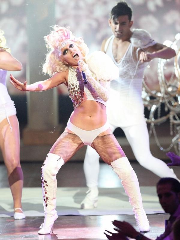Lady Gaga Paparazzi MTV VMA 2009