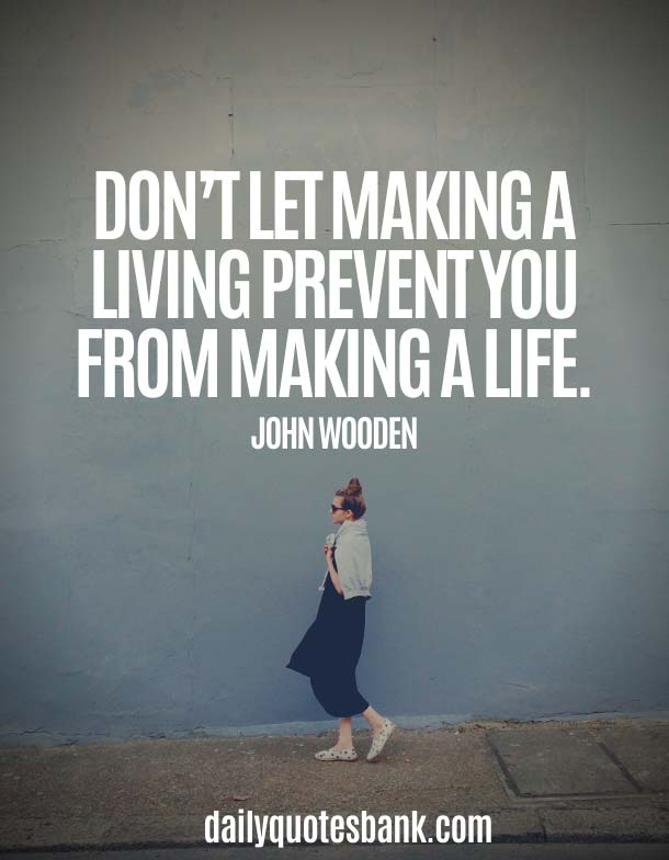 John Wooden Quotes On Life