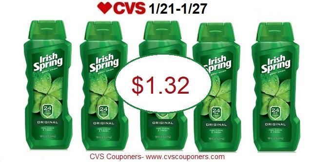 http://www.cvscouponers.com/2018/01/stock-up-irish-spring-body-wash-only.html