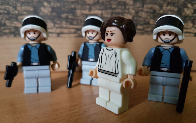 Princess Leia and her guards, Rebel Alliance Star Wars
