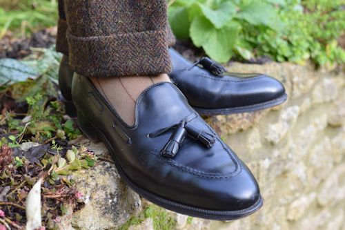 c467483fc4e These Crockett   Jones Cavendish loafers have some age