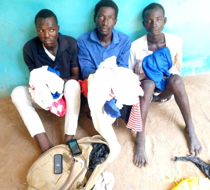 Three arrested in Adamawa over 'midnight house to house robberies'