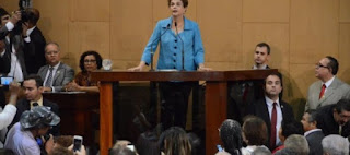Dilma Rousseff recebe título de Cidadã Baiana na Assembléia Legislativa