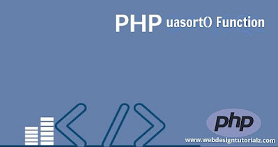 PHP uasort() Function