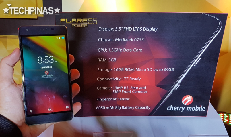 Cherry Mobile Flare S5 Power