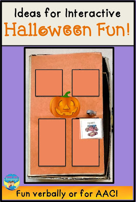 Have fun in speech learning the language for Halloween!