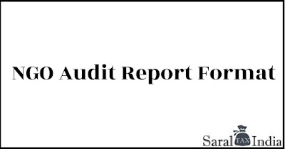 audit report format for ngo