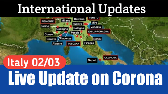 Live Updates on Corona 02/03/2020