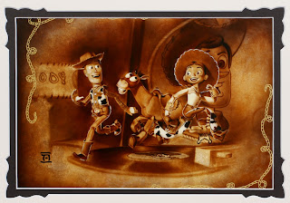 toy story disney fine art round up gang by Noah