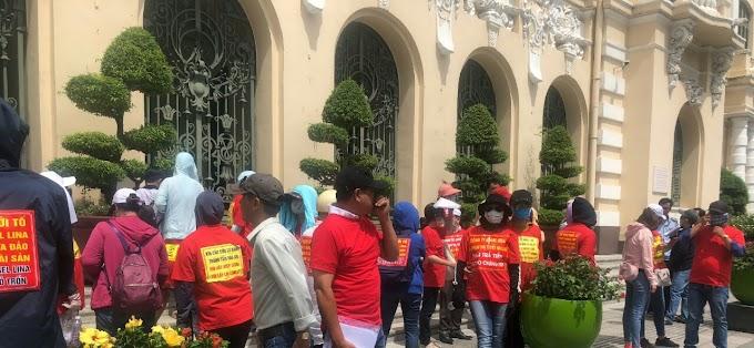 """Bắt nữ doanh nhân Phạm Thị Tuyết Nhung vẽ dự án """"ma"""" náo loạn Sài Gòn"""