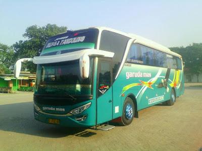 Foto Bus Garuda Mas Bunga Tandjung