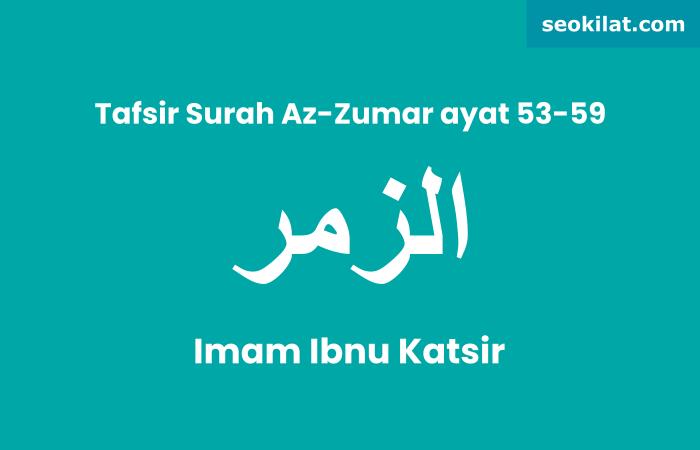 Tafsir Surah Az-Zumar ayat 53