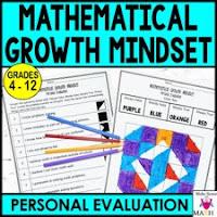 mathematical growth mindset activity