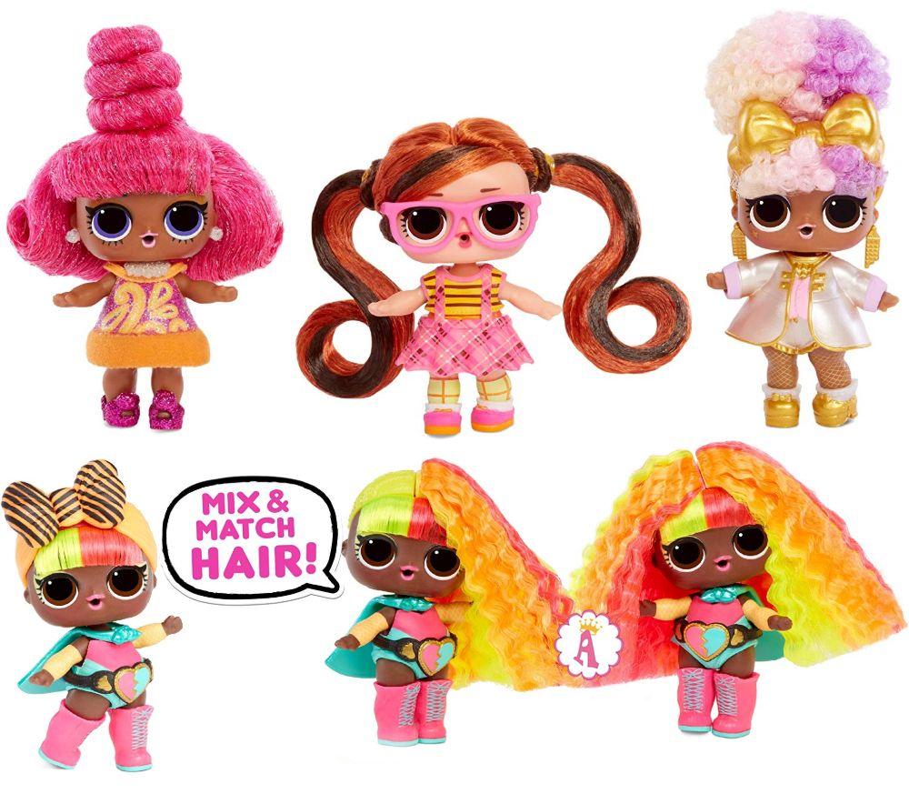 Лол Сюрприз Mix & Match Hair 6 серия #hairvibes