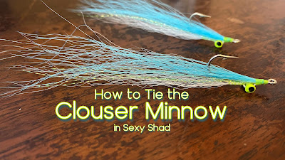 Clouser Minnow, How to tie the Clouser Minnow, Clouser Deep Minnow, Sexy Shad, Fly Fishing, Bass Fly, Sexy Shad Fly, Bass on the fly, fly fishing texas, Texas Fly Fishing, Texas Freshwater Fly fishing, Pat Kellner, TFFF