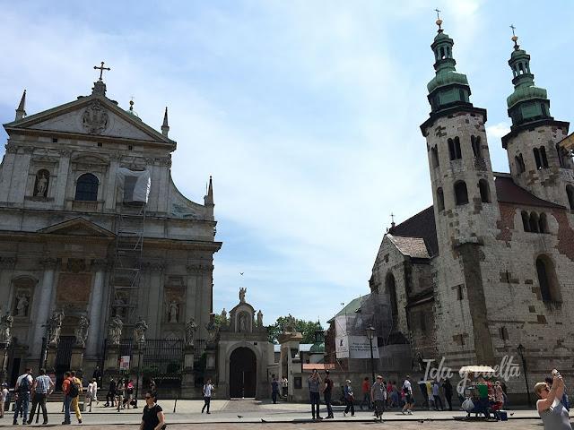 Cracovia 4 días iglesias centro