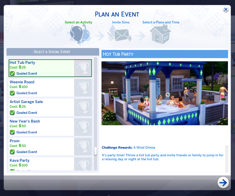 The sims 4: Jacuzzi Hot Tub party MOD
