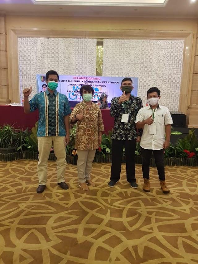 Anggota DPRD Lampung : Masyarakat Supaya Ramah Dengan disabilitas