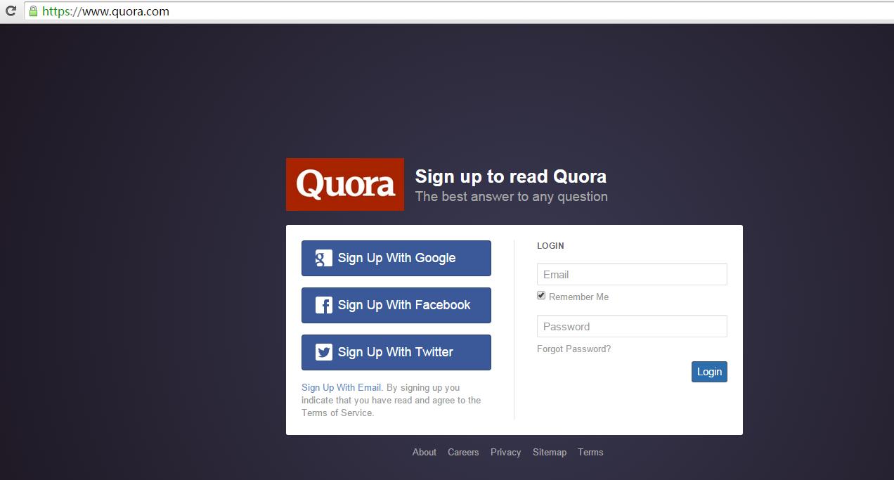 最快捷的VPN,方便获取全球资讯: 说说Quora,看似无墙却有墙