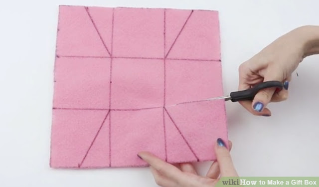 kolay şekilde hediye kutusu nasıl yapılır