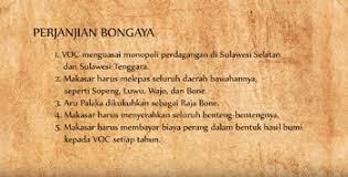 Sejarah Isi Perjanjian Bongaya Beserta Penjelasannya-edukasinesia.com