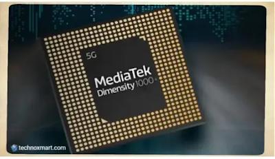 mediatek dimesnity 1000+ soc 5g chip