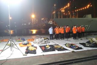 Sudah 45 Kantong Jenazah Terkumpul Selama Evakuasi Korban Sriwijaya Air SJ182
