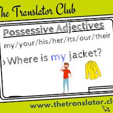 POSSESSIVE ADJECTIVES (LECCIÓN 8-BÁSICO A)