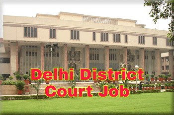 Delhi District court job