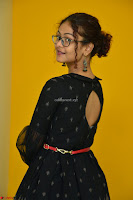 Aditi Myakal in Spicy Red Short Skirt and Transparent Black Top at at Big FM For Promotion of Movie Ami Tumi 048.JPG