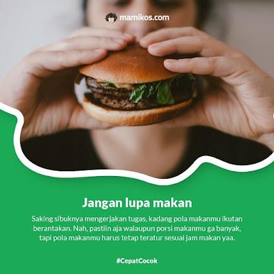 Tips Bugar Buat Si Rajin Lembur dengan Jangan Lupa Makan