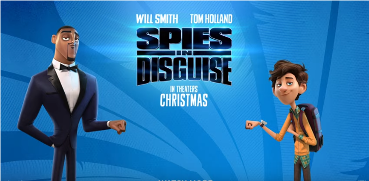 Spies in Disguise%2B Official Trailer
