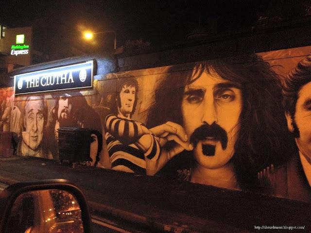 Frank Zappa streetart