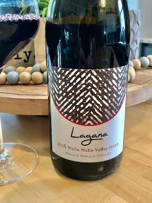 2016 Lagana Cellars Walla Walla Valley Syrah label