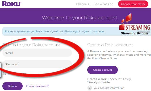 how to install set tv on roku