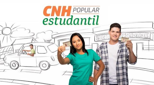 Escola Jaime Laurindo tem 7 alunos classificados para concorrer a CNH Popular Estudantil; confira a lista