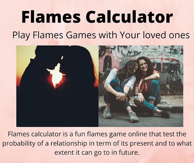 Flames calculator