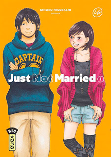 manga Just not married tome 1 aux éditions Kana